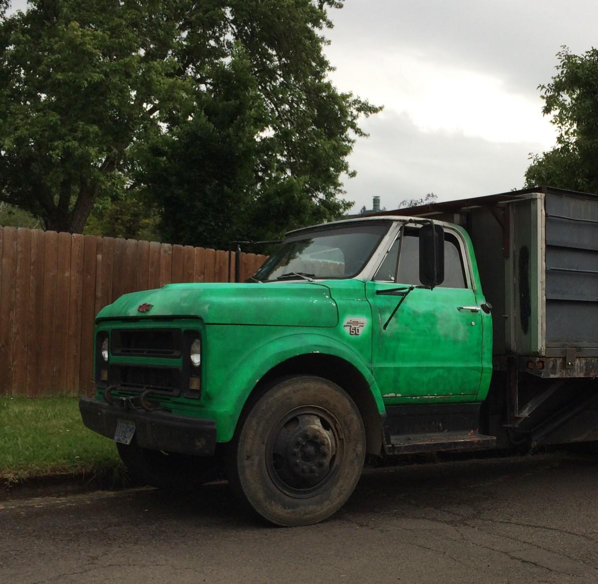 File:1971 Chevrolet C50 dump truck, Roxbury NY.jpg ...   C50 Truck