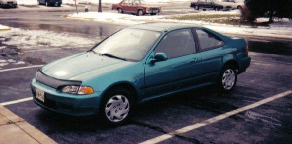 1994 Honda Civic EX front view