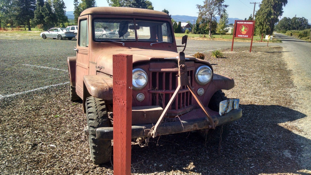 Cohort Outtake Willys Jeep Pickup When Pickups Were Work 1941 Trucks In Its Day These Not Uncommonly Used As Tow
