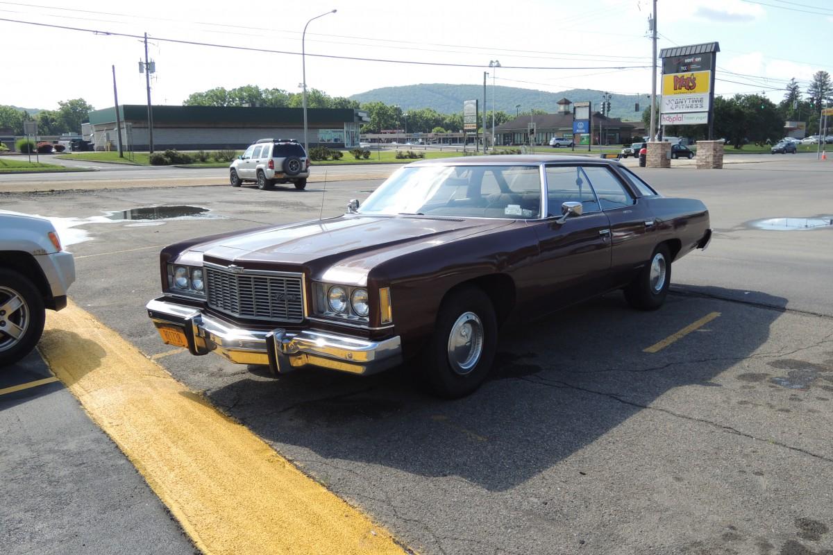 Curbside Classic 1975 Chevrolet Impala Of Caesar