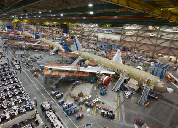 Boeing Everett Factory