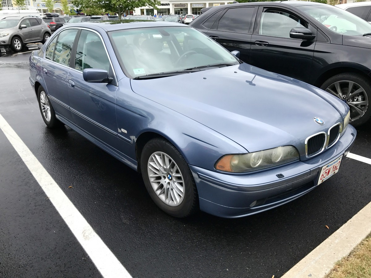 QOTD 2003 BMW 530i E39  What Is The Most Gracefully Aged