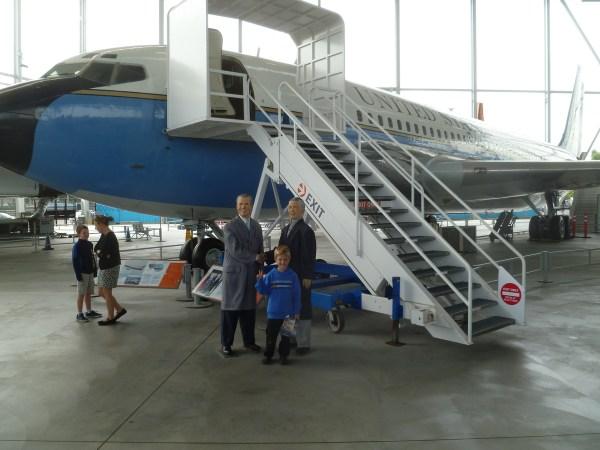 Nixon's Air Force One Boeing 707