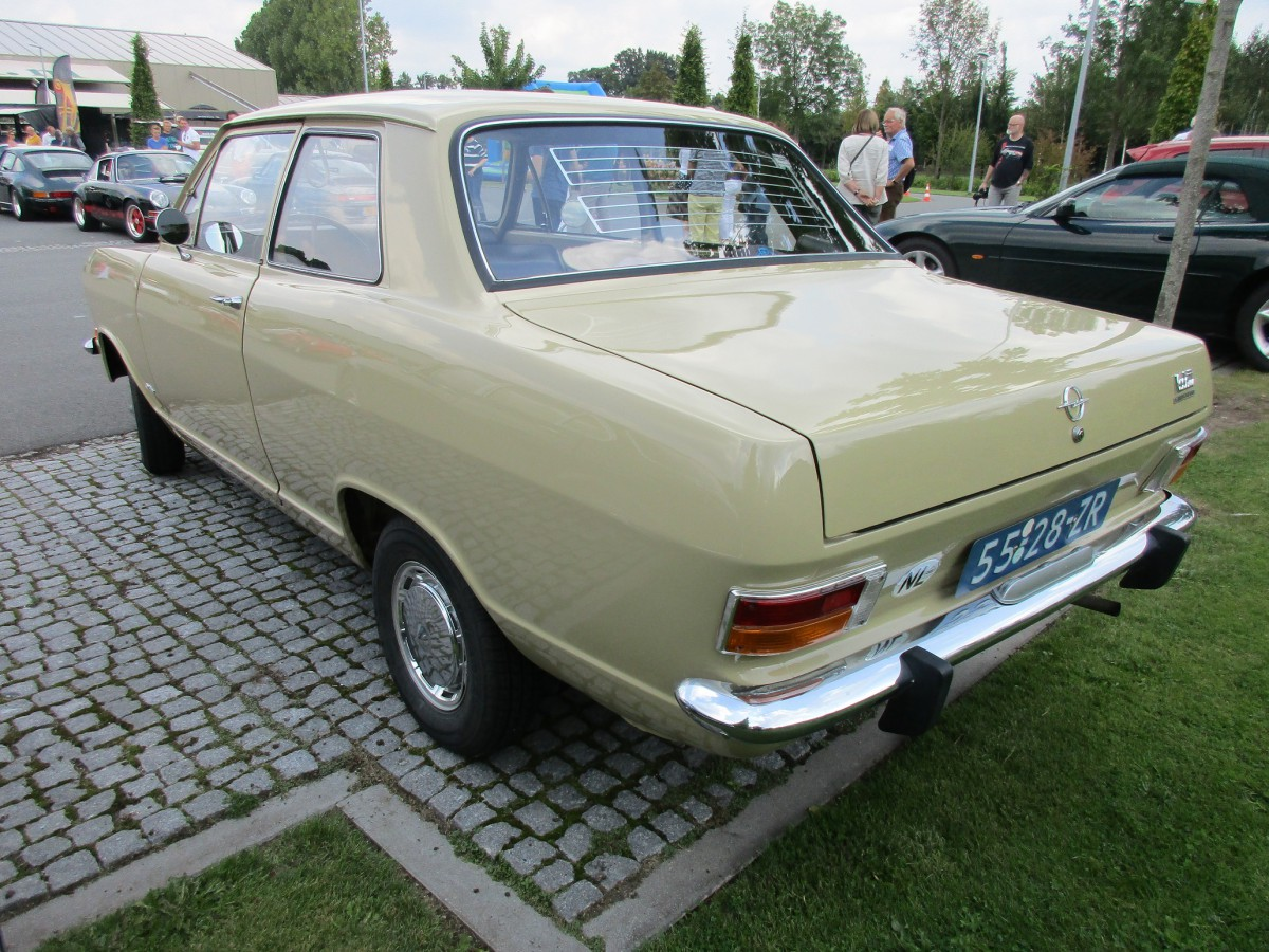 Car Show Outtakes Opel Kadett B And Opel Rekord C Two