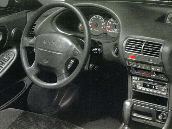 Acura Integra interior and dash