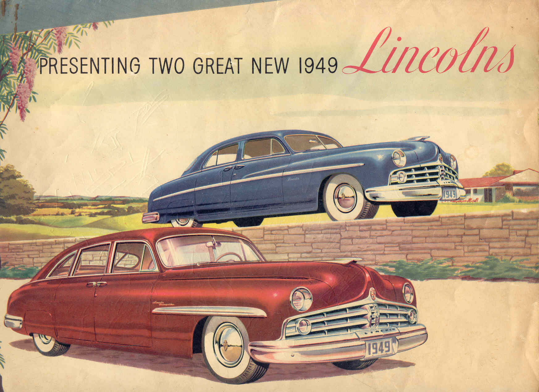 so now there were two lincolns in this u002749 u2013 u002751 era the red with a 125u2033 wheelbase was the lincoln