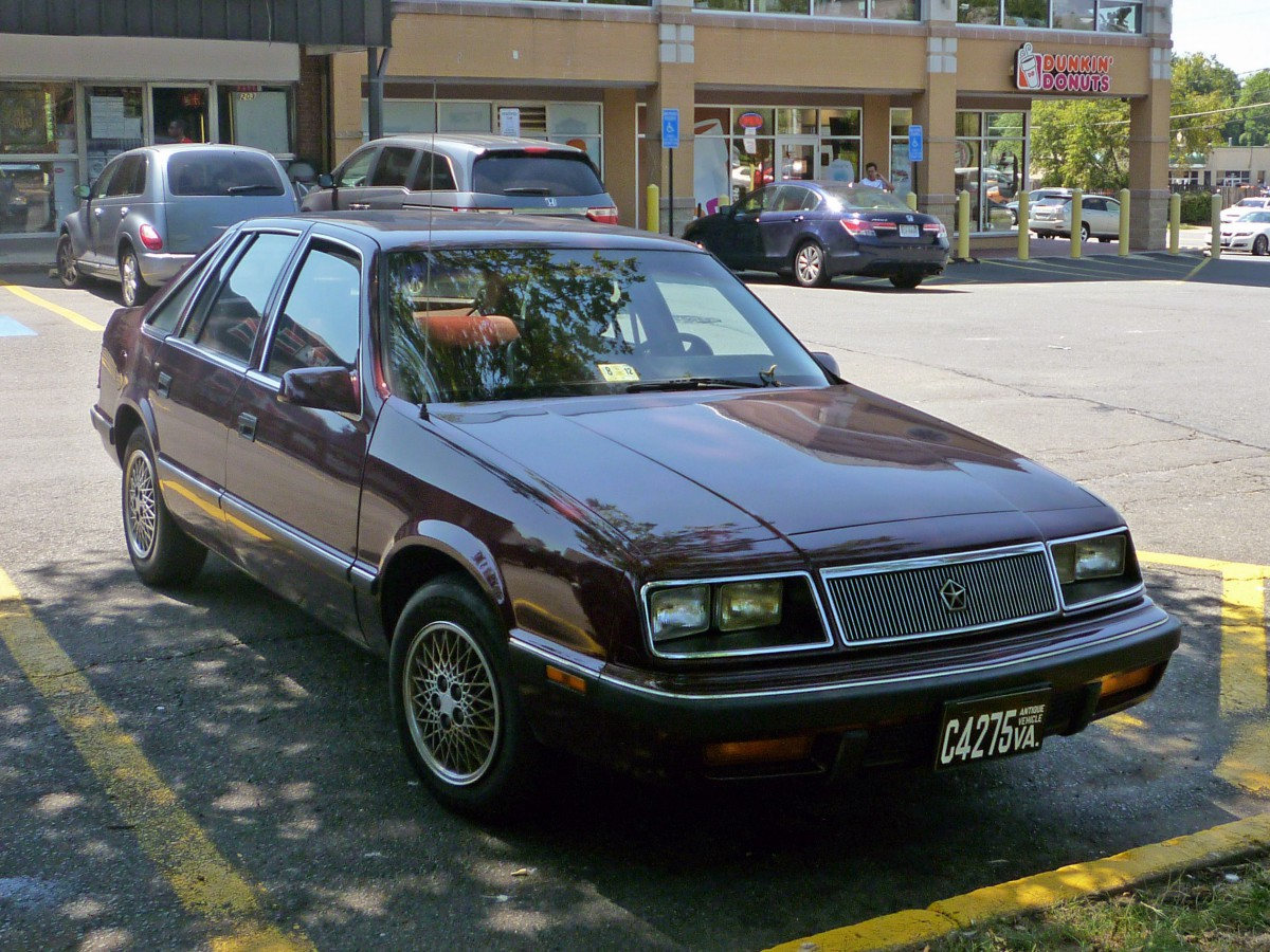 Curbside Classic 1987 Chrysler Lebaron Gts So Close And Yet So