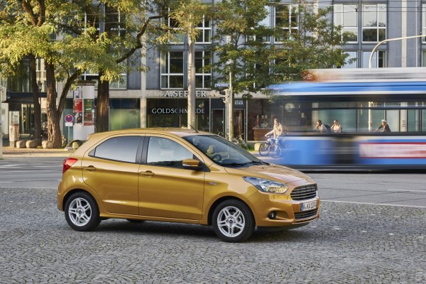 The Ka Name Continued In A New Model Built On The Platform Of The Fiat  By Fiat In Poland And Sold In The Same Part Of The Market
