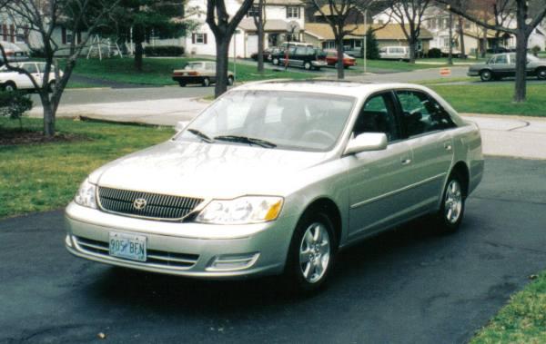 Toyota Avalon sedan