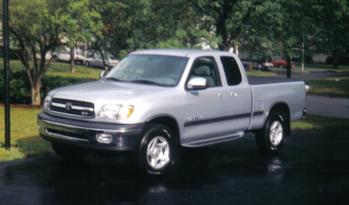 Coal 2000 Toyota Tundra Sr5 Where Did That Come From Curbside Classic