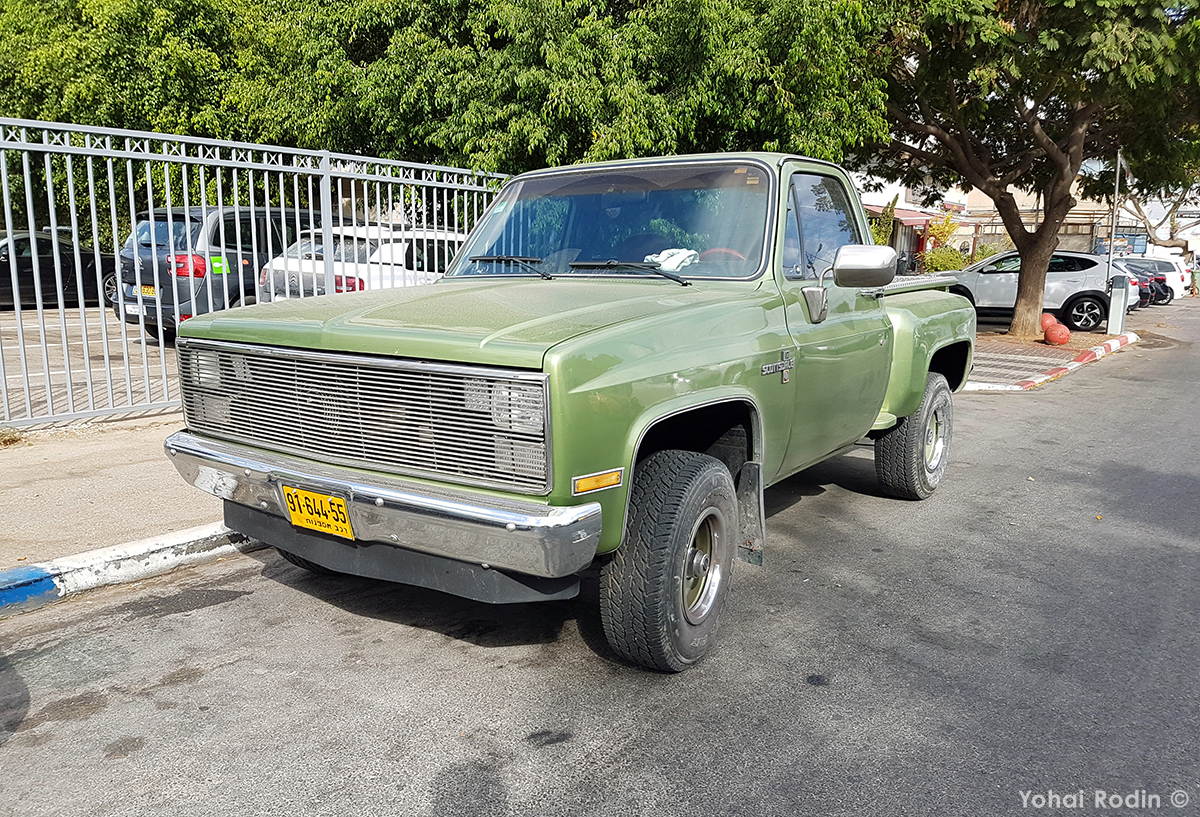 Curbside Classic: 1983 Chevy C10 Step-Side Scottsdale – I'm Ready ...