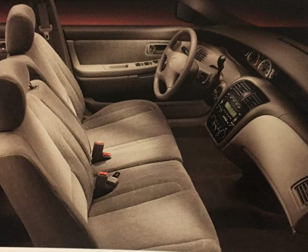 Avalon XL interior bench seat