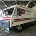 An absolute unicum, this special ordered 1979 motorhome based on a rolling DAF 1100 truck chassis. A DAF manager had it built at a shipyard.