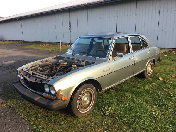 Cc For Sale 1976 Peugeot 504 Diesel More At Home In France Than