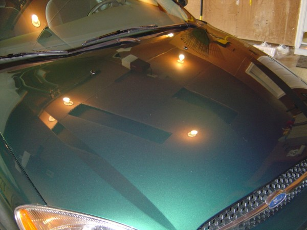 Paint finish on Taurus SE