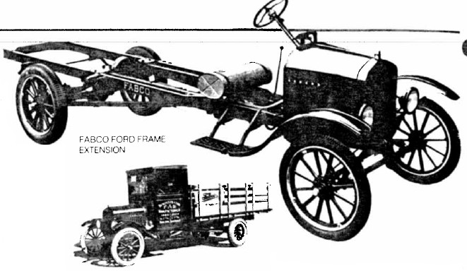 Fabco Frame Extension and Stake Bed Truck
