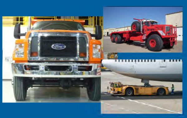 Ford Medium Duty, Western Star Off-Highway, and Aircraft Tow Truck