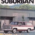Every time I see a $60,000 Suburban hauling kids (which is about twenty times a day), I think of the Suburban of my youth.