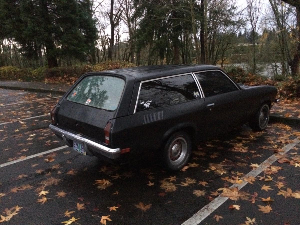 CC Outtake: 1973 Vega Kammback – With Original 2300 Engine? Quite ...
