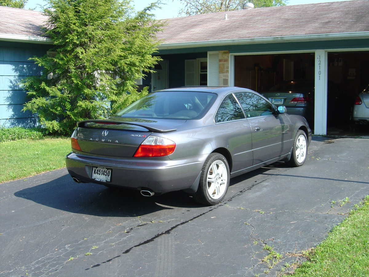 Acura CL rear view