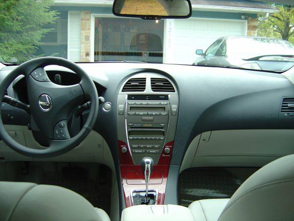 Dashboard 2008 Lexus ES350