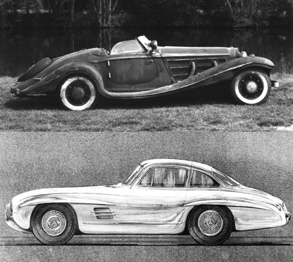 And Friedrich Geiger Also Drew The Most Iconic Mercedes