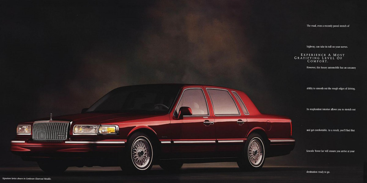 Curbside Classic: 1997 Lincoln Town Car Signature Series – Signing A ...