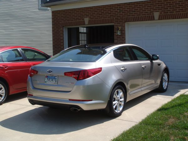 2011 Kia Optima EXT Rear