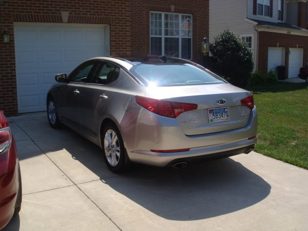 Alternate rear view of 2011 Kia Optima