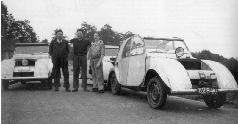 358005f316 Prototype testing at Citroën's test facilities was still ongoing in  mid-1939.