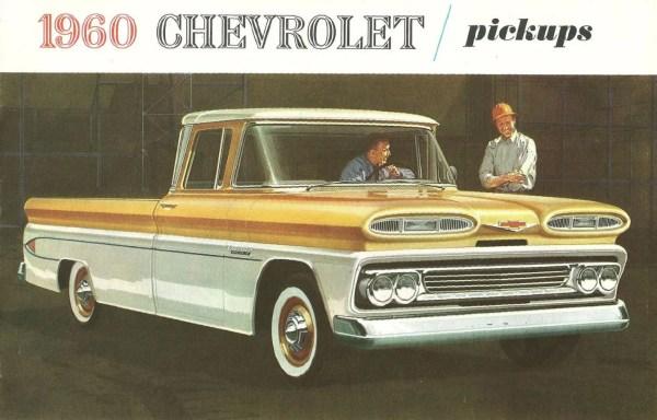 Automotive History: 1960-66 Chevrolet Pick-up Trucks – The