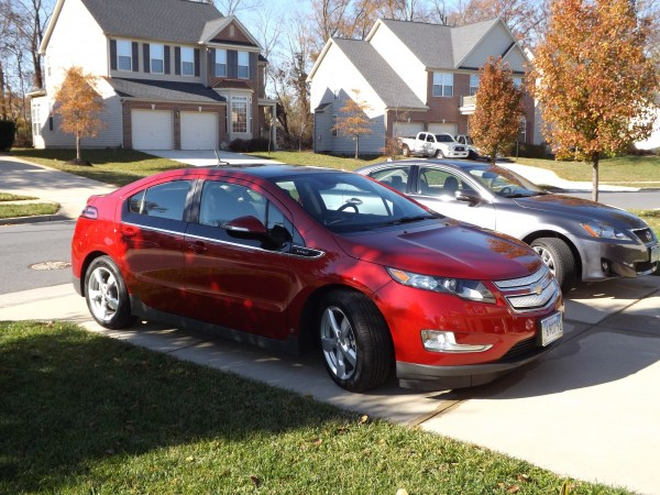 2012 Chevrolet Volt side view