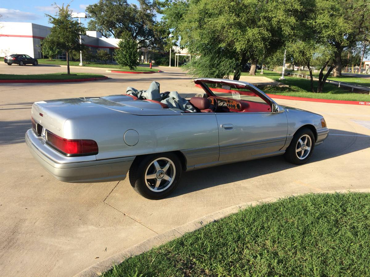 Craigslist find 1989 mercury sable two door convertible concept a fantasy that would never become a reality thanks to the mustang