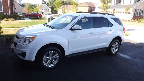 2015 Chevrolet Equinox LT side