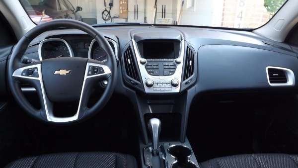 2015 Chevrolet Equinox LT dash