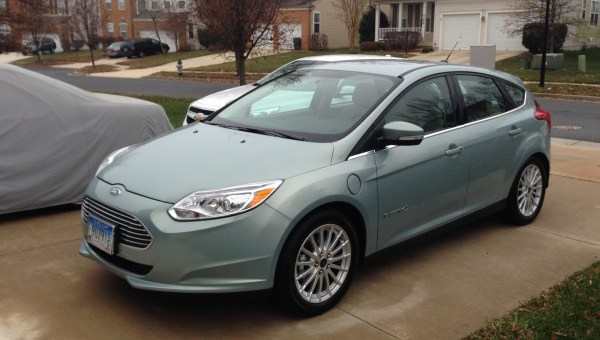 2013 Ford Focus Electric front