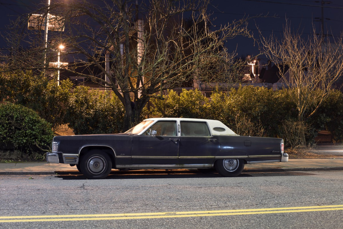 Curtis Perry Outtakes The Night Time Is Right 1975 Lincoln Town Car