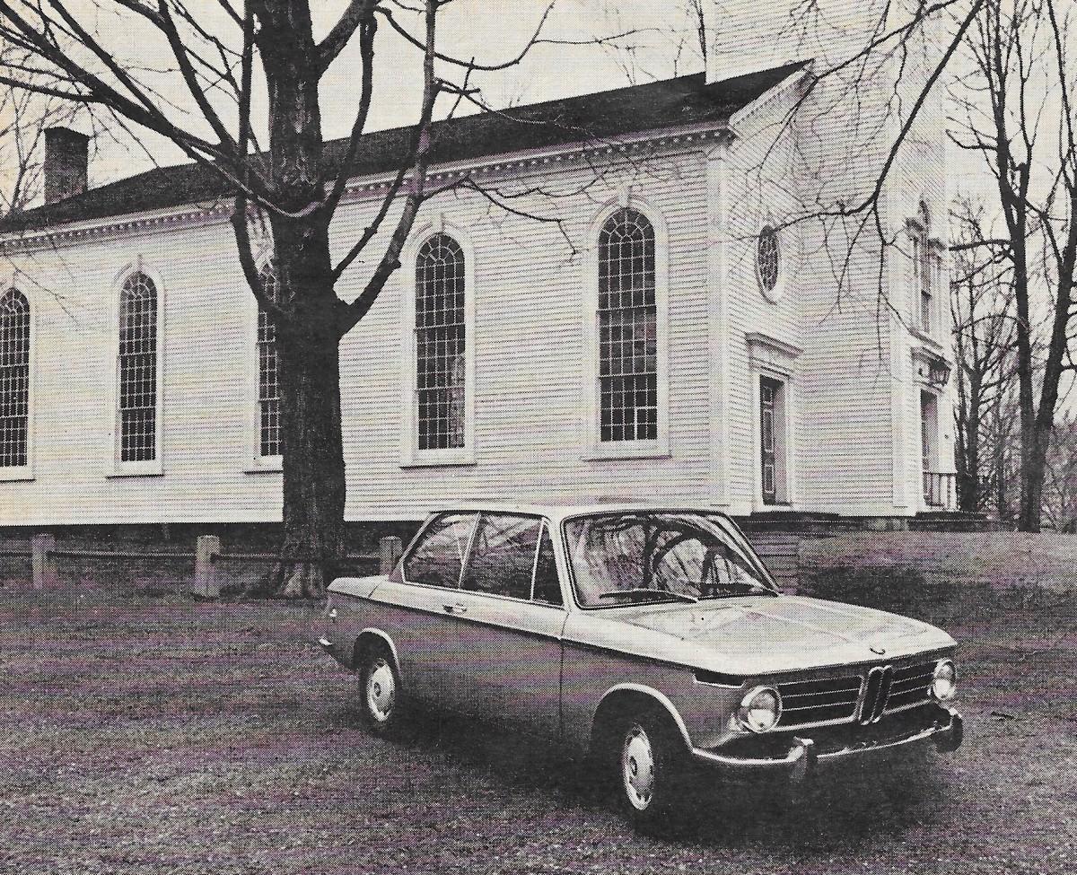 Vintage Review: 1968 BMW 2002 – Car and Driver\'s David E. Davis ...