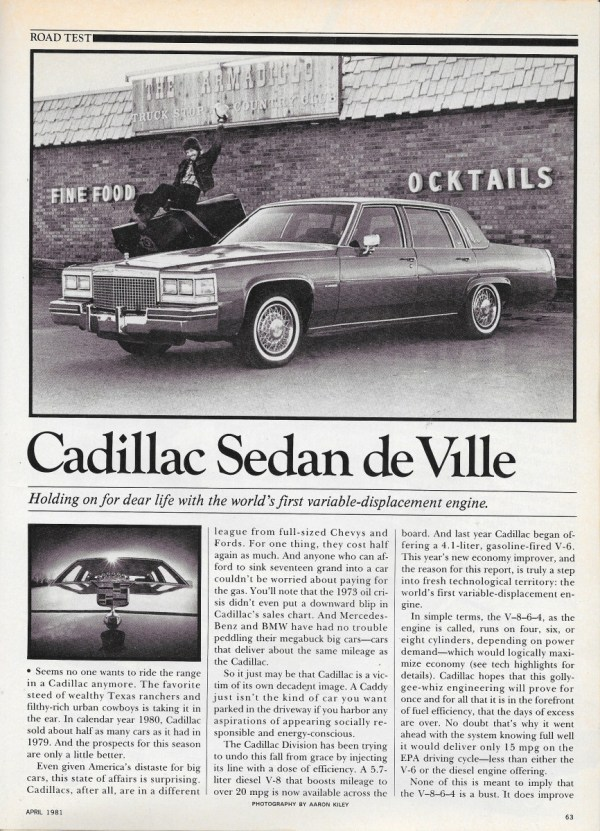 vintage reviews and commentary 1981 cadillac the year caddy stopped firing on all cylinders gm s deadly sin 29 curbside classic 1981 cadillac the year caddy