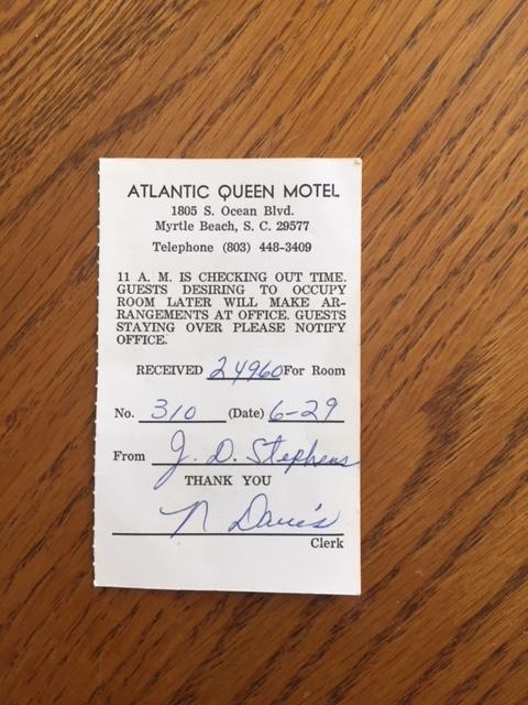 Atlantic Queen Motel Myrtle Beach
