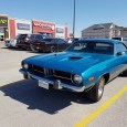 I always enjoy coming across new and old versions of the same car. Or in this case very similar cars. Since Plymouth was dead by the time the Challenger was […]