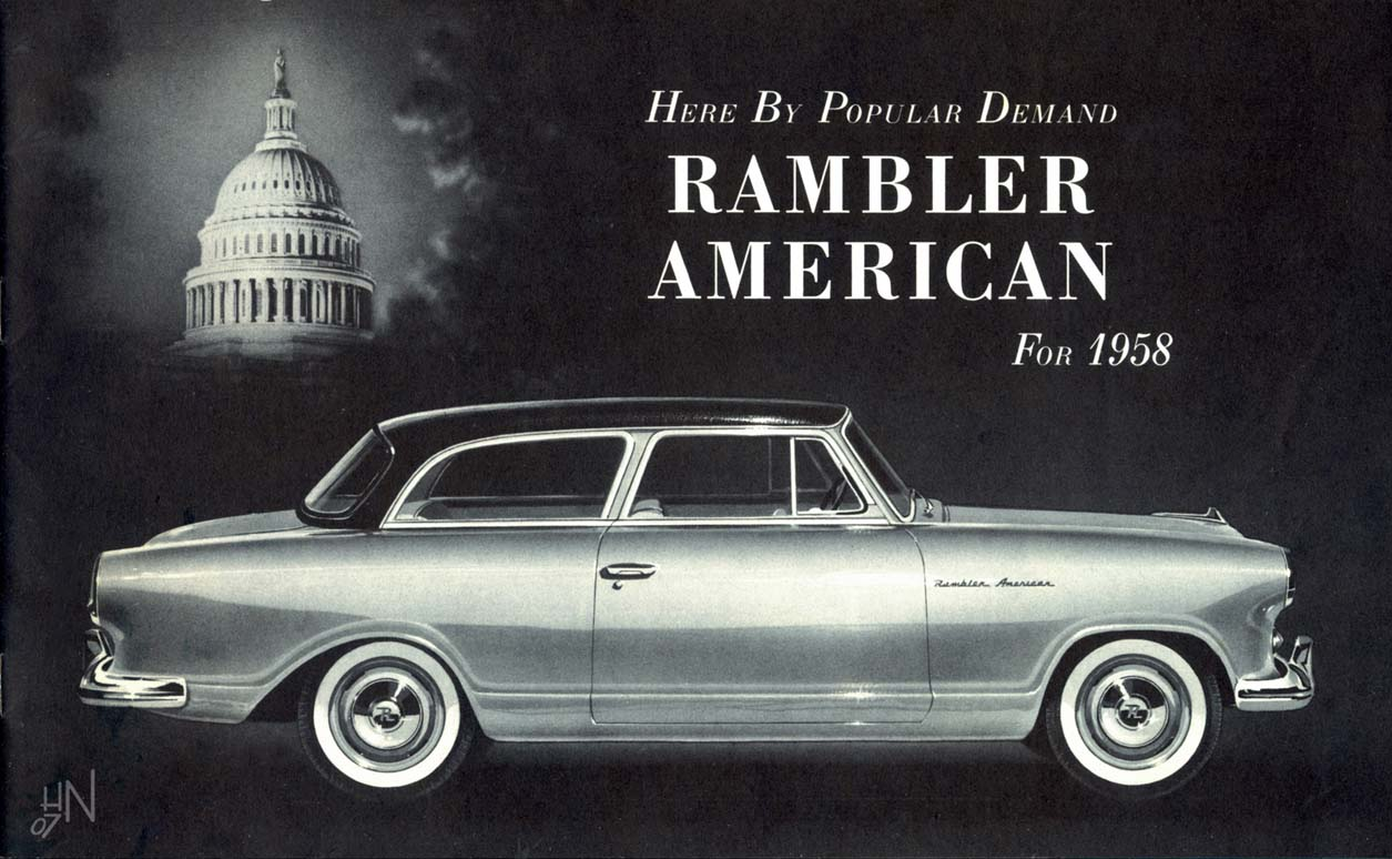 Curbside Classic 1959 Rambler American Beep Ignition Circuit Diagram For The 1955 Nash 8 Cylinder Ambassador Rambam58 P01