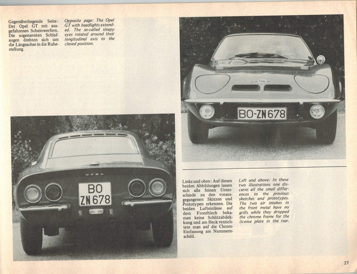 Opel Gt Frame Diagram Trusted Wiring 1973 Automotive History The 1968 Long Road From Datsun 280z