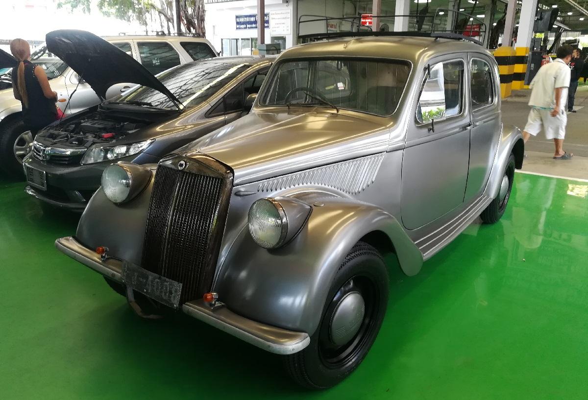 Curbside Classic: 1946 Lancia Aprilia Berlina – Vincenzo's Symphony In V4  Major