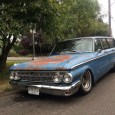 Mike Hayes has found what has to be one of the rarest American-brand station wagons of the sixties. The Mercury Meteor, based heavily on the new mid-sized Fairlane, was only […]