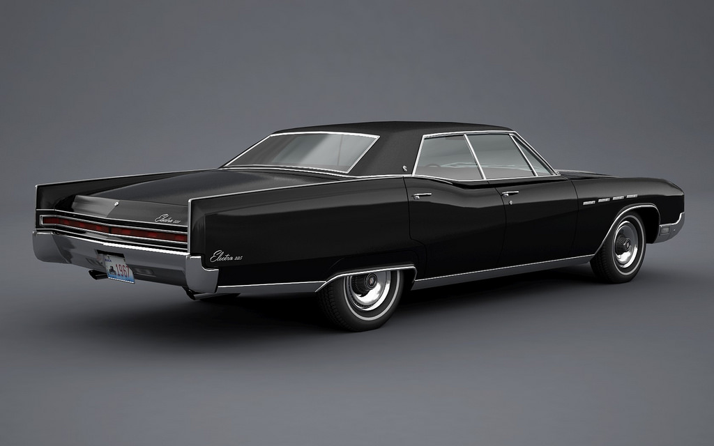 Curbside Classic Lite: 1967 Buick LeSabre 400 Sedan – That