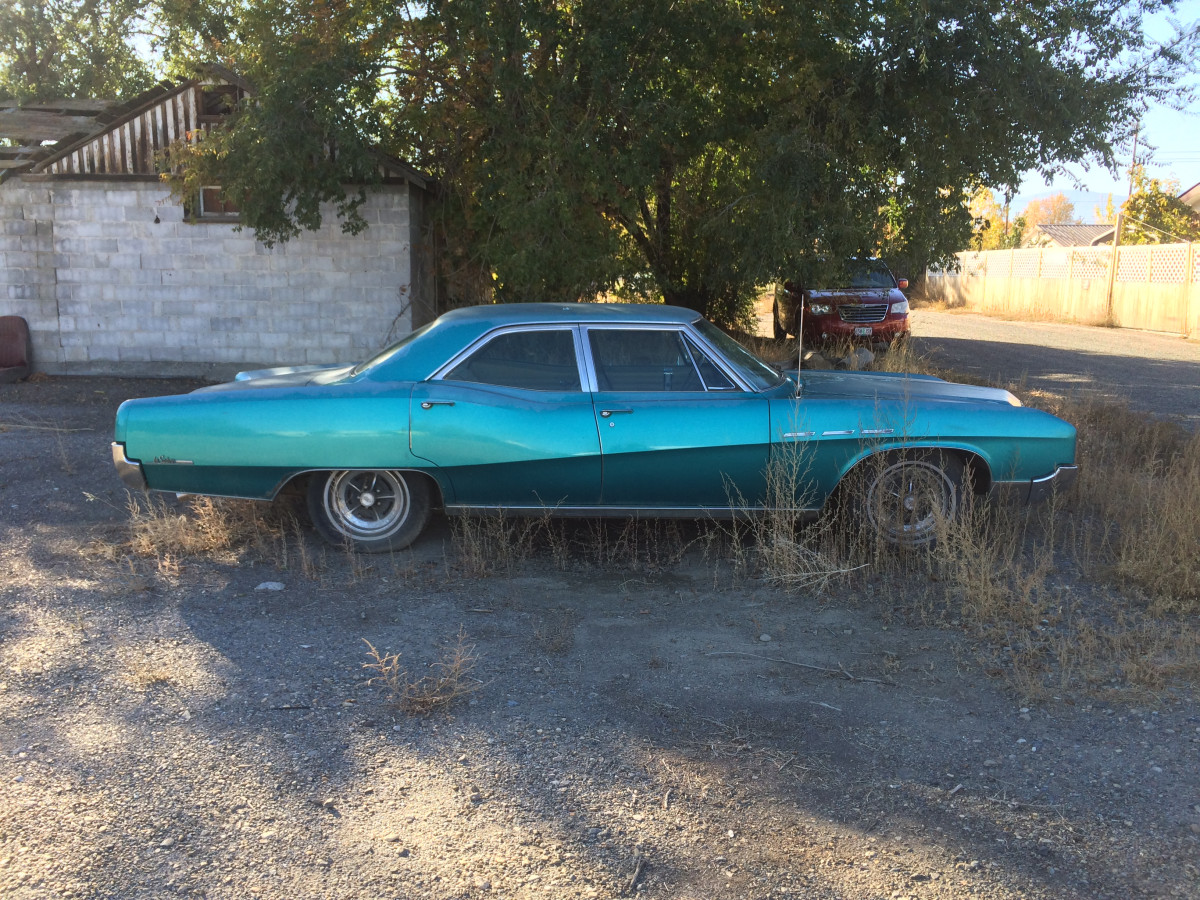 Curbside Classic Lite: 1967 Buick LeSabre 400 Sedan – That
