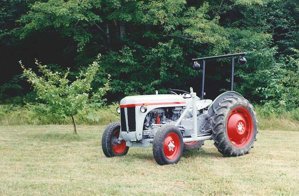 Tractor of a Lifetime: 1956 Ferguson TE20 – Little Grey