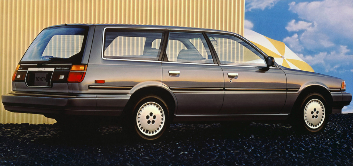 CC Capsule: 1991 Toyota Camry DX Wagon – Gut Fish, Not