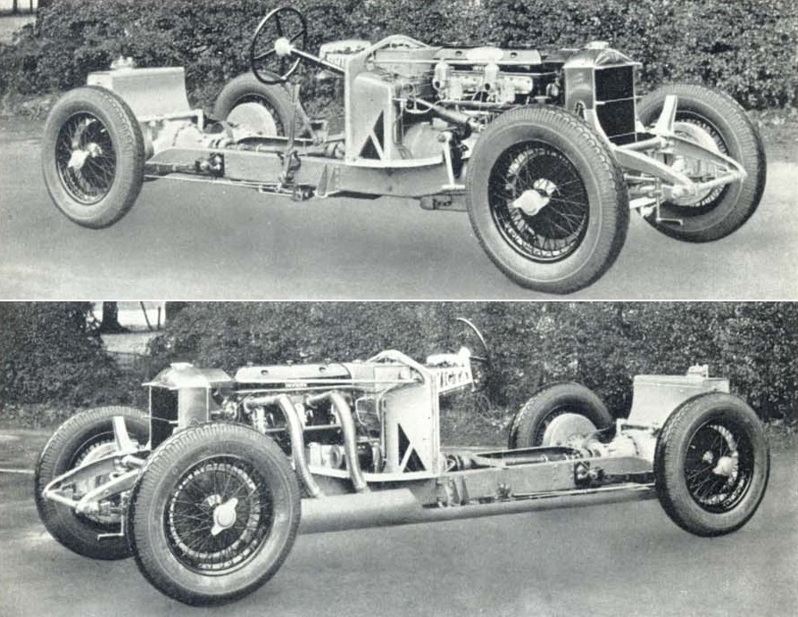 Reversed frame  si bas... si simple - Page 4 1931_Invicta_S_chassis